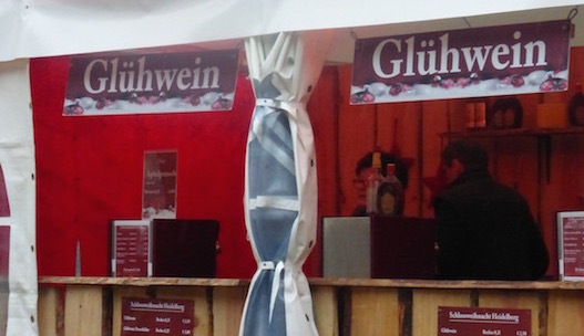 Christmas markets gluhwein