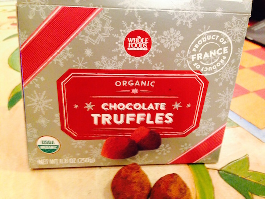 Whole Foods Market truffles