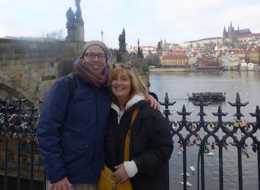 Lois and Michael Prague bridge