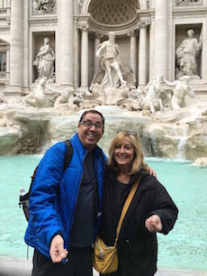 Lois and Michael Trevi Fountain