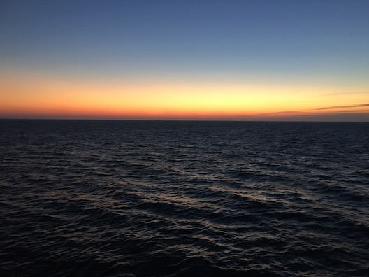 Viking Star sunset
