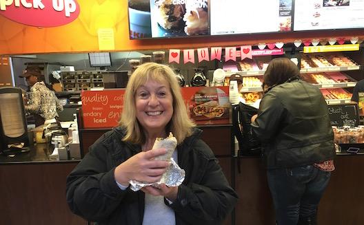 Dunkin' Donuts GranDDe Burrito Lois