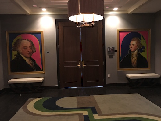 Kimpton Palomar Philadelphia paintings