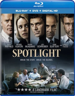 Spotlight Bluray Combo Pack