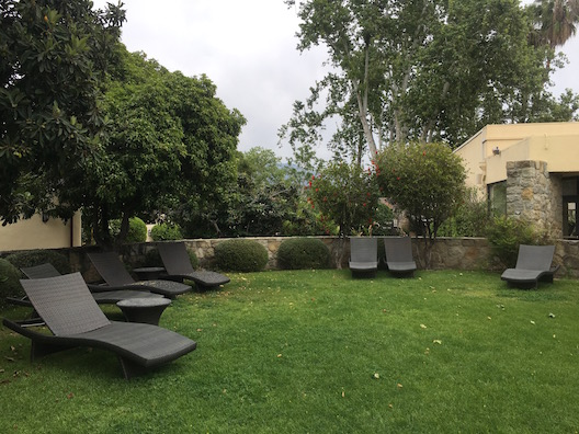 Oaks at Ojai lounge chairs