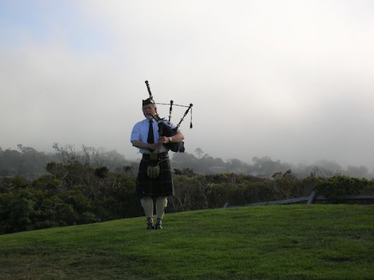 Bagpiper Pebble Beach