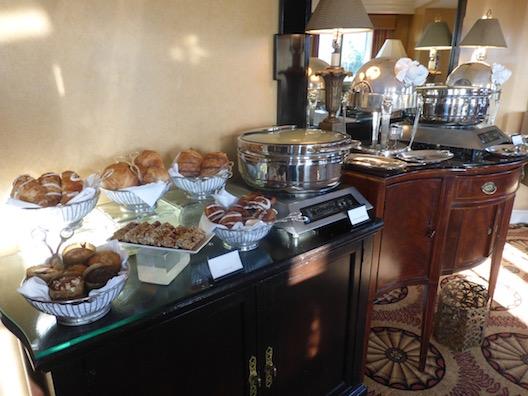 Langham breakfast