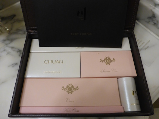 Langham toiletries