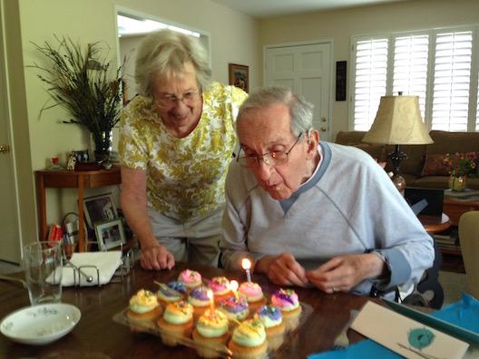 Mom and Dad 85 birthday