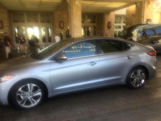 Hyundai Elantra Desert Ridge