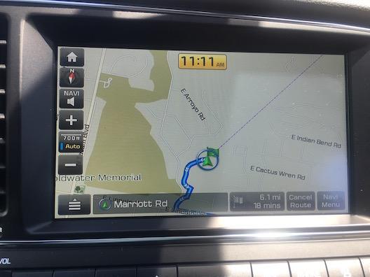 Hyundai Elantra GPS