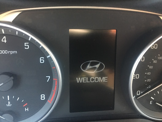 Hyundai Elantra welcome