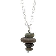 Uncommon Goods pebble necklace