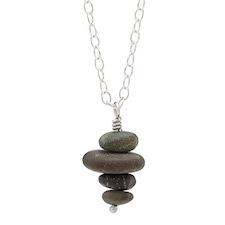 Uncommon Goods pebble necklace