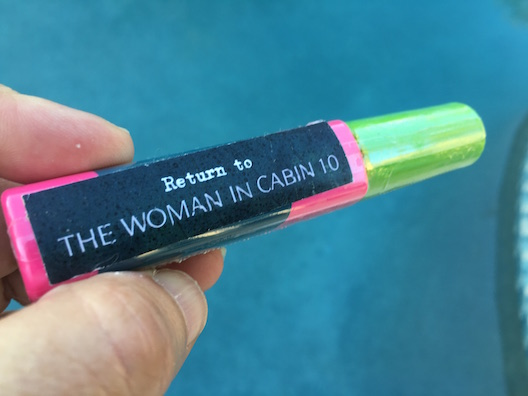 The Woman in Cabin 10 mascara