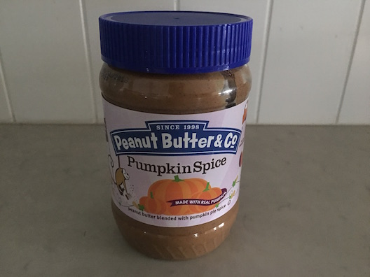 Peanut Butter & Co. Pumpkin Spice Peanut Butter