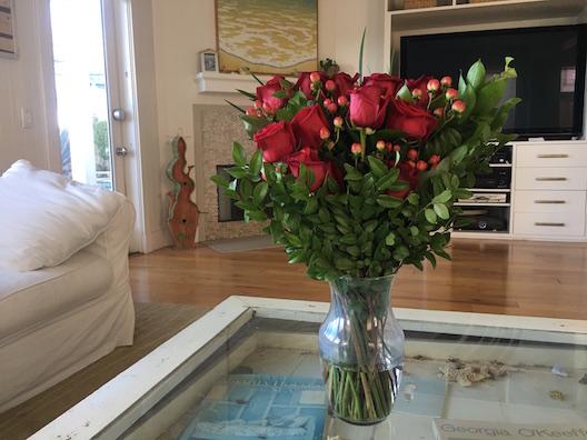 Boutique Bar roses