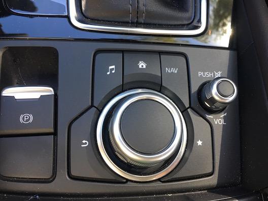 2017 Mazda 3 controls