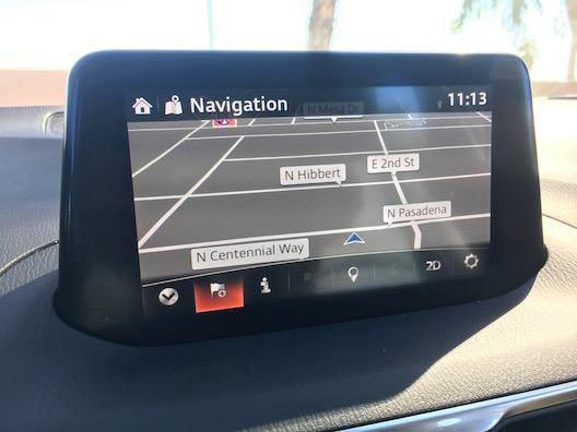 2017 Mazda 3 navigation