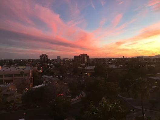 Mesa sunset