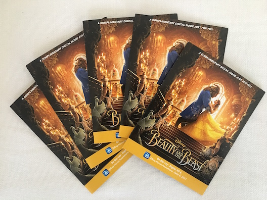 Beauty and the Beast digital copies