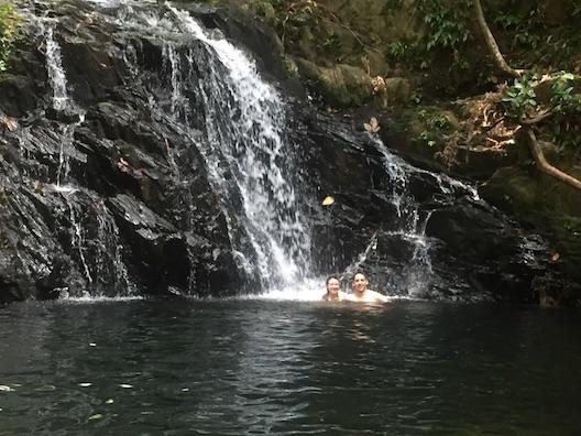 Hamanasi waterfall